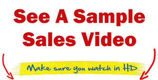 sample sales video